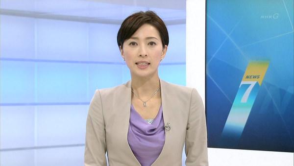 NHKの美人女子アナ小郷知子 14