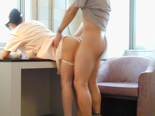 ナース服の着衣セックス 1