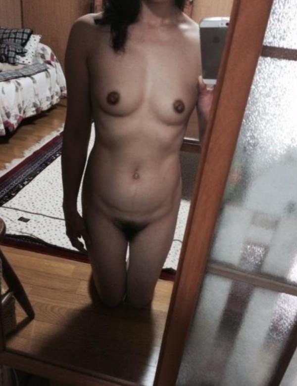 熟女の自撮り 10