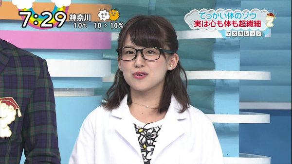 尾崎里紗アナ 5