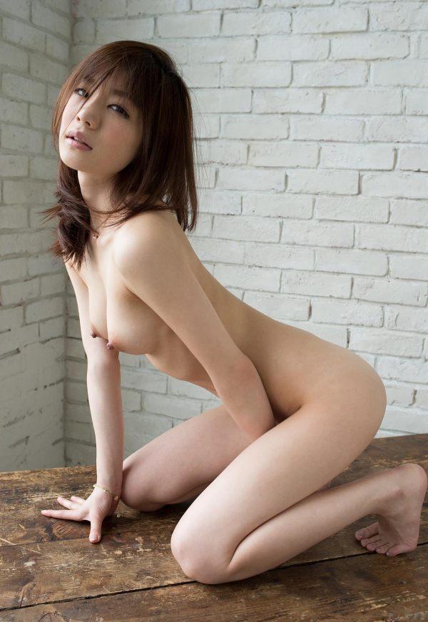 美巨乳美少女の全裸ヌード 33