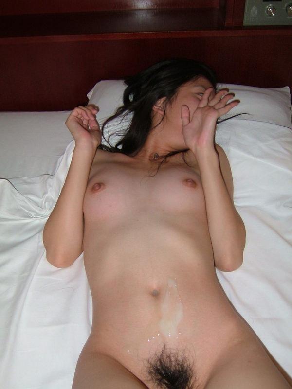 素人の腹射 1