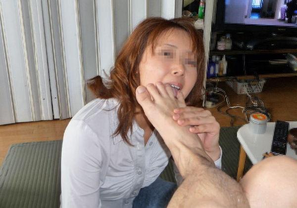 素人の足舐め 5