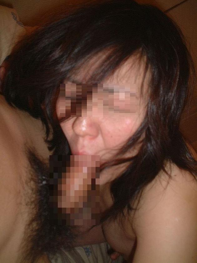 40代素人熟女のフェラ 24