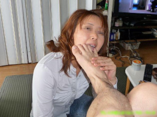 素人の足舐め 8