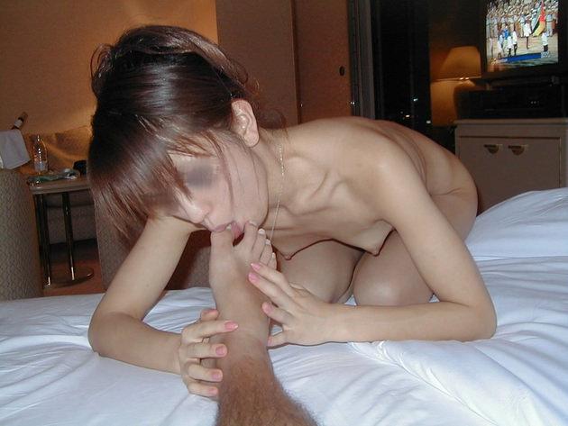素人の足舐め 14