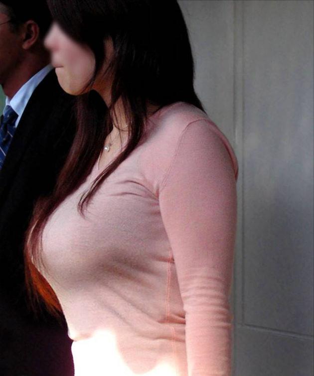素人の着衣横乳 7