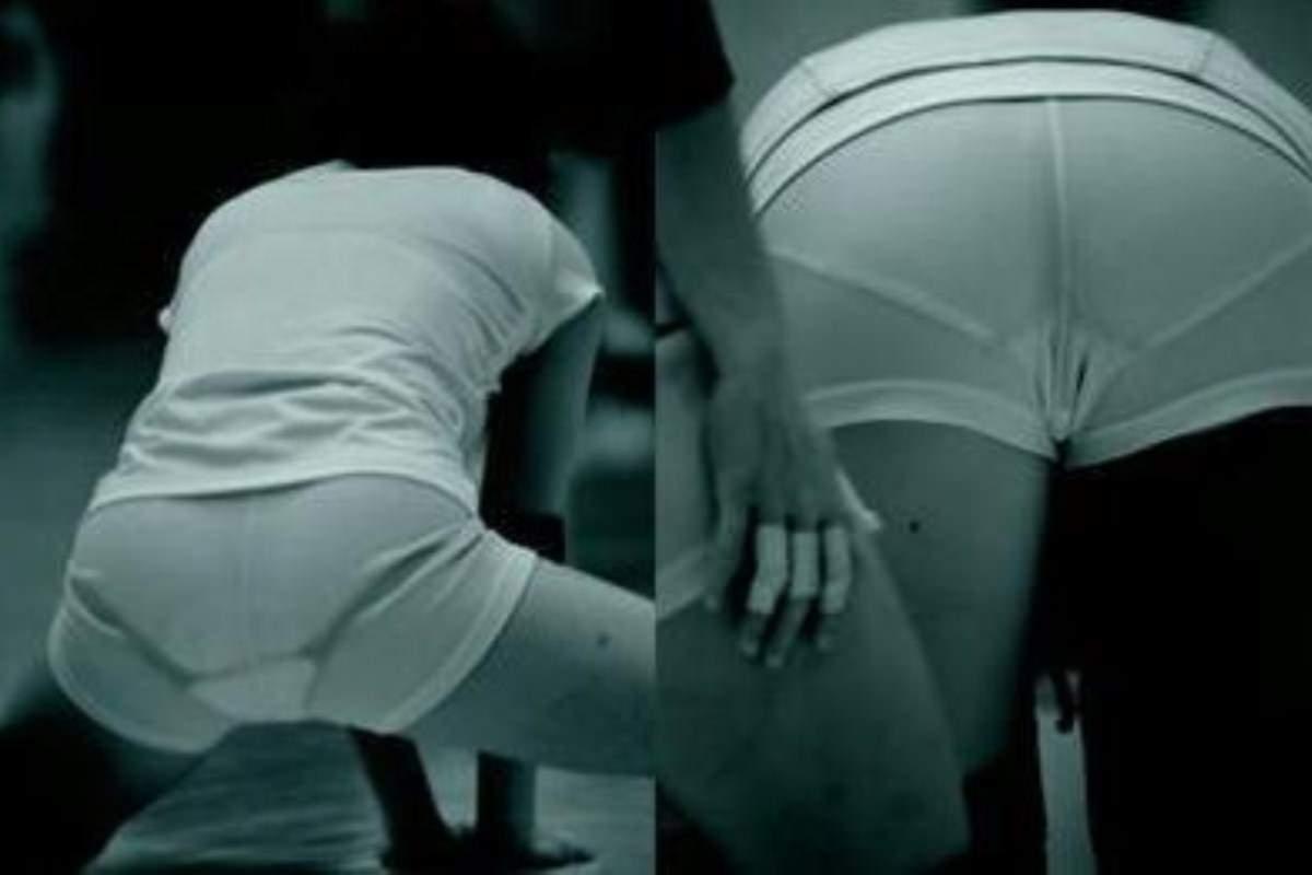 赤外線盗撮コワッ!女子バレー選手の下着が透けてるエロ画像