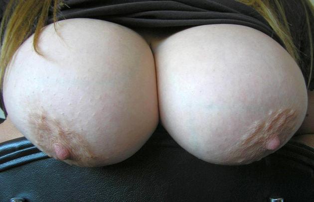 巨乳の接写 6