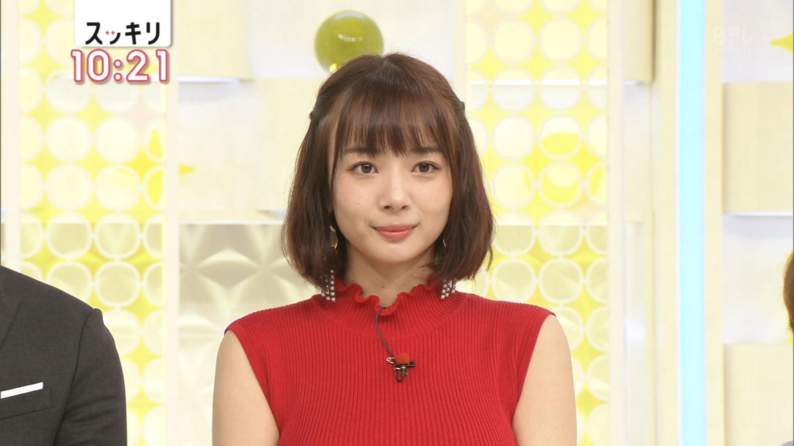 岡田紗佳 美人ハーフモデルのニットワンピの着衣巨乳!スタイル良すぎwwww