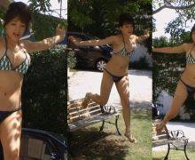 画像あり 篠崎愛、雑誌付録のDVDで乳首ポロリ!!!これは間違いなく乳首ですわwww