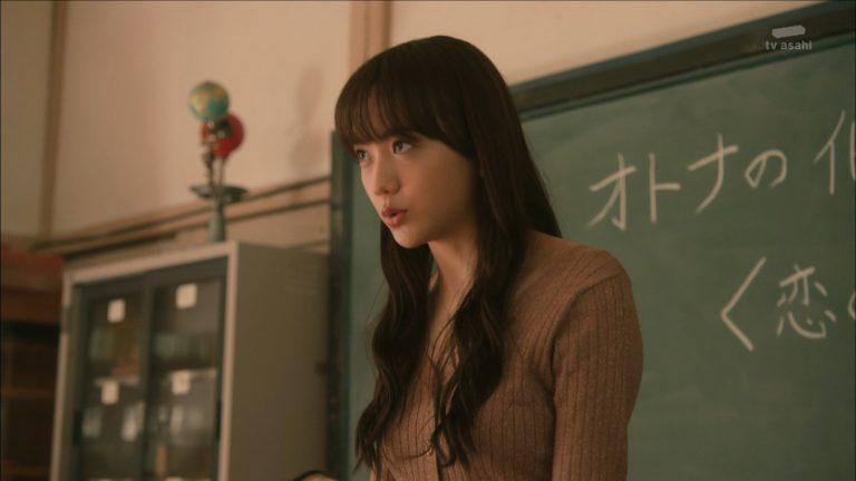【画像】松井愛莉ちゃんのニットおっぱい姿がエロ可愛すぎるww(オトナ高校)
