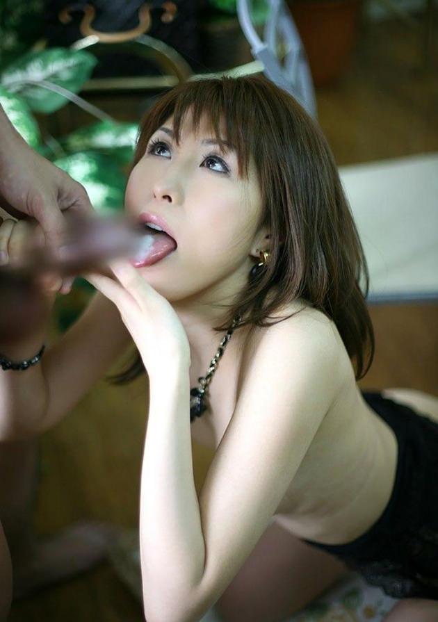 口内発射・舌射 14