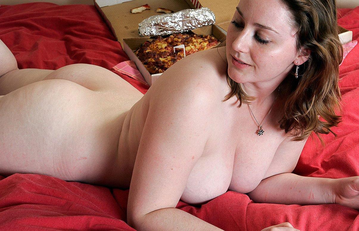 外国人熟女の全裸ヌード
