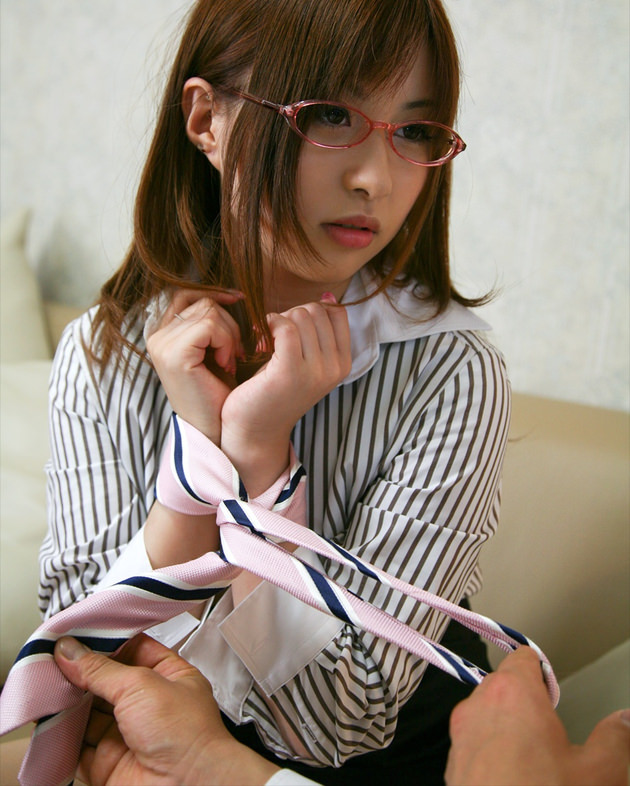メガネのOL 4