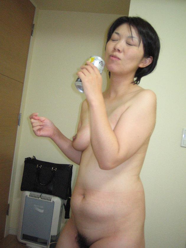 40代素人熟女の裸 10