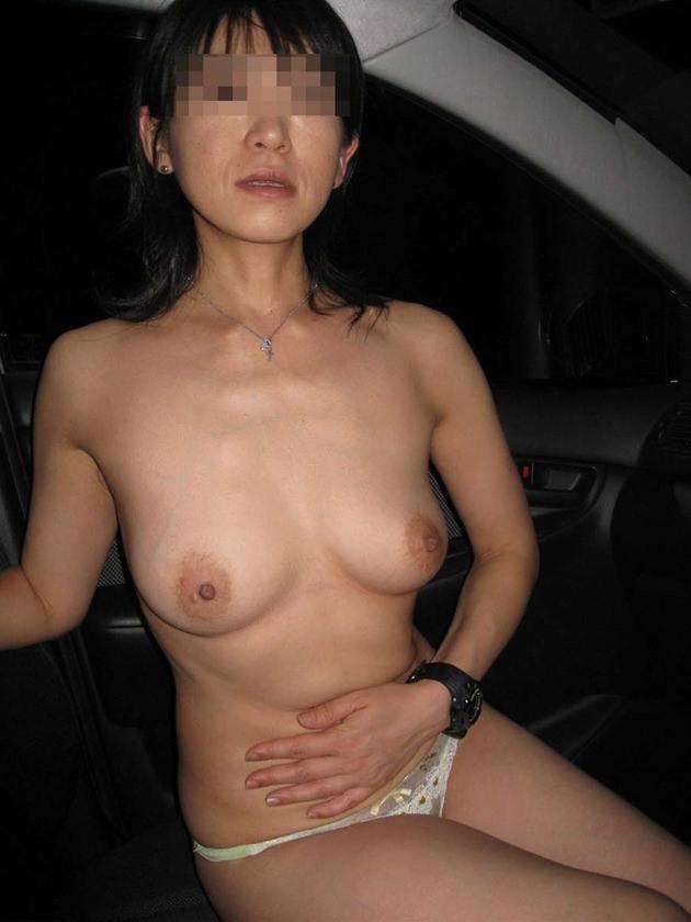 40代素人熟女の裸 14