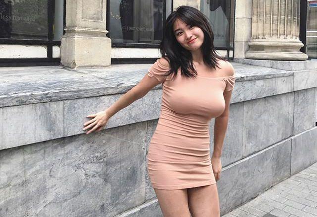【画像】とんでもない爆乳韓国人美女が発見されるwwwww