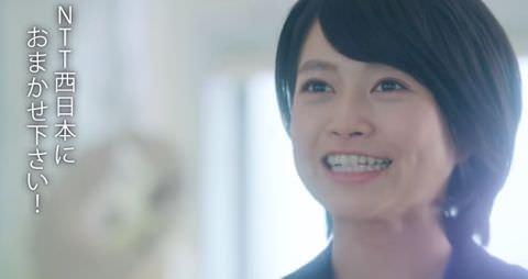 女優・萬歳光恵、乳首モロ出し濡れ場!NTT西日本CMのセキュリティ女性、脱いだwww