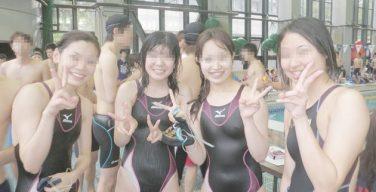 【素人 競泳水着】乳首ポッチしてる水泳部の女子部員 画像20枚