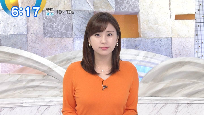 (写真)テレ東の角谷暁子アナ、横乳が凄いと早朝から話題にwwwwwwwwwwww
