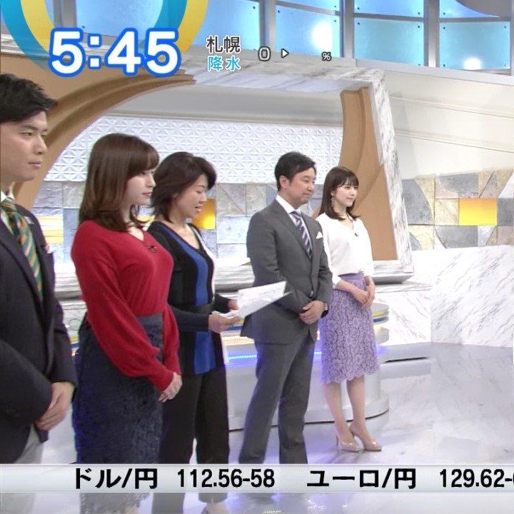 (写真)モーサテの角谷暁子アナ、お乳が攻撃的だと話題にwwwwww