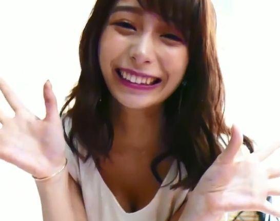 宇垣美里アナ、胸チラ動画を投稿⇒TBSが慌てて削除www【GIF】