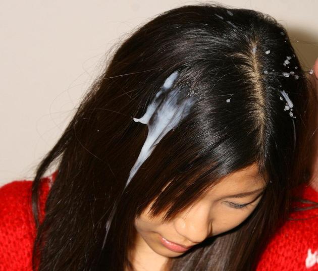 無言でやったらガチ切れされそうな髪の毛にドバァ~っとザー○ン身寸米青www 画像27枚