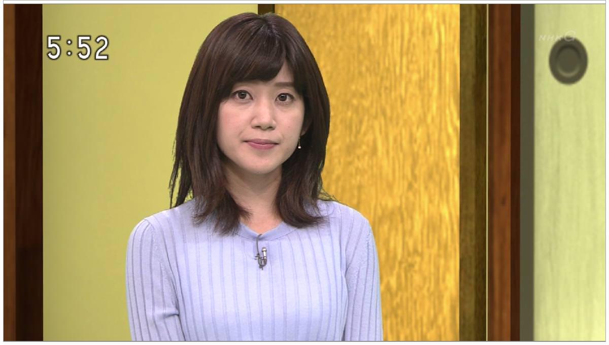 (写真)NHK合原明子アナのニットお乳たまらねえwwwwwwww