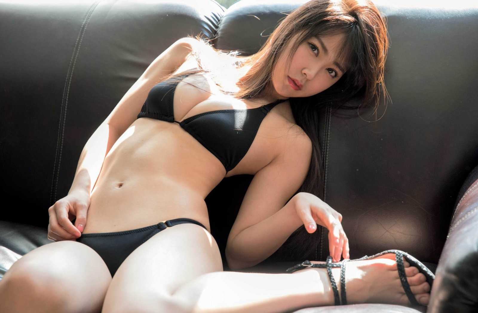 白間美瑠 NMB48みるるんの新エースミズ着&下着お乳色っぽい写真