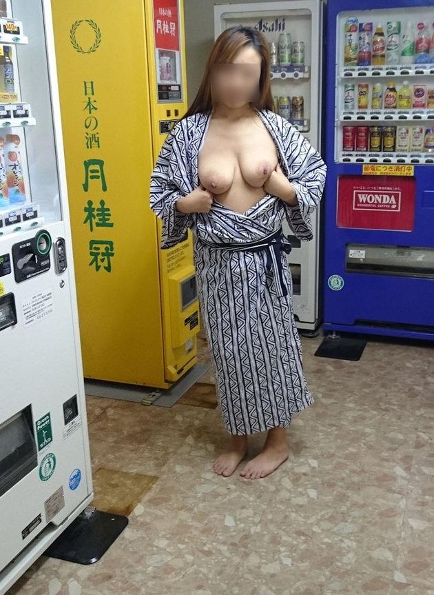 温泉旅行で撮った素人の入浴中ヌードや浴衣姿 36