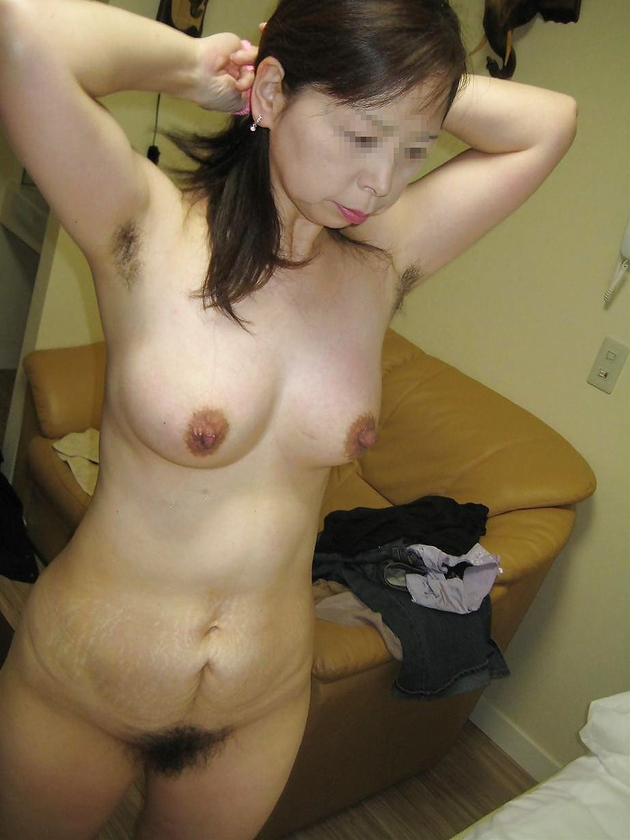 熟女のワキ毛 10