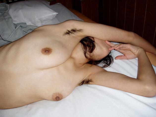 熟女のワキ毛 20