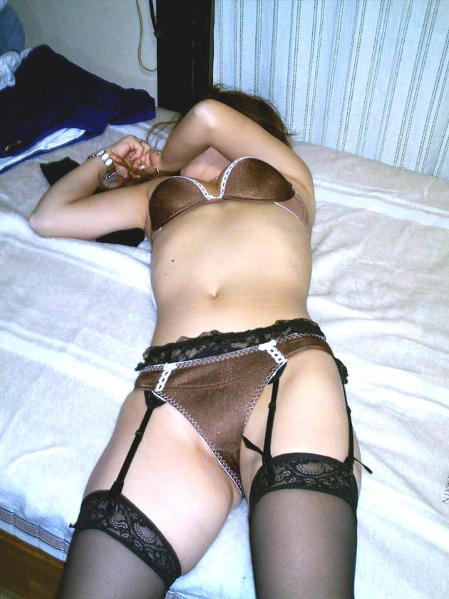 熟女のセクシーランジェリー 42
