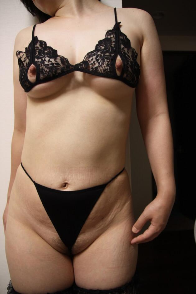 熟女のセクシーランジェリー 48