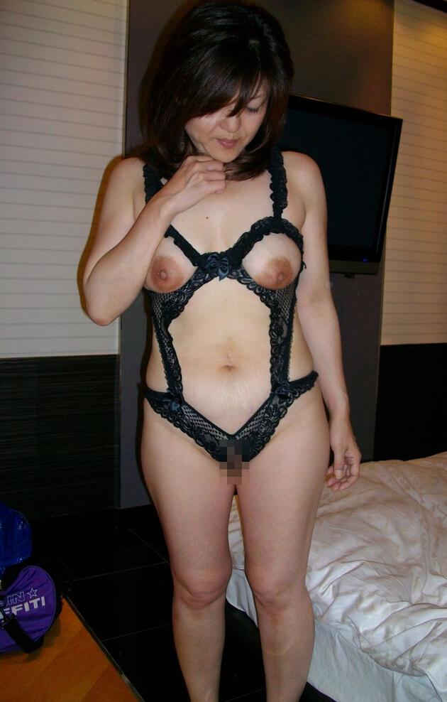 熟女のセクシーランジェリー 52