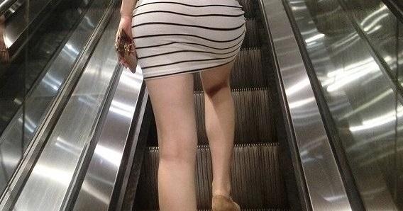 【画像】駅にエッチ女いる