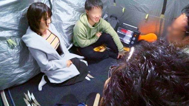 パコパコ女子大学トラックテントでバイト即ハメ旅Report.115_35