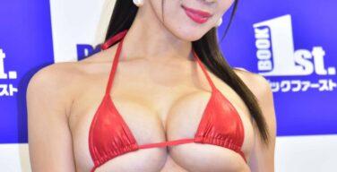 【マイクロビキニ】グラビアアイドルの過激に露出する極少水着 画像43枚