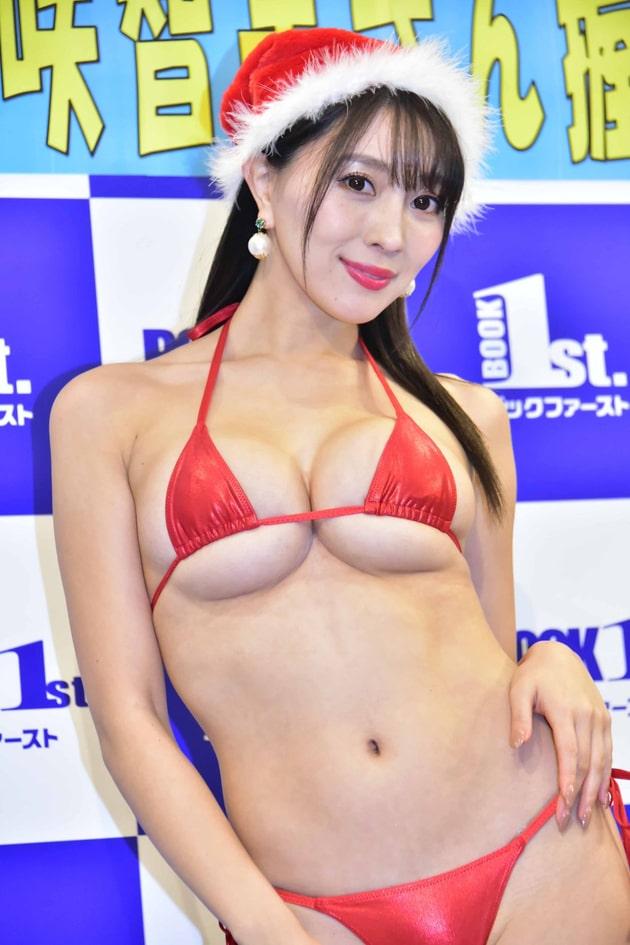グラドルのマイクロビキニ 9 森咲智美