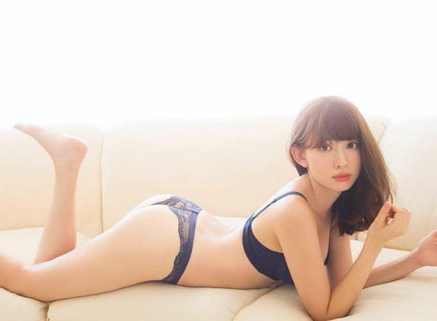 小嶋陽菜 芸能人の下着姿 35