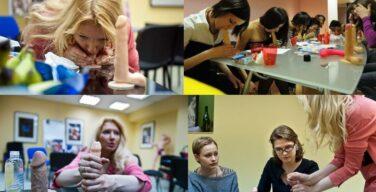 【画像】ついにロシアでフェラチオスクールが開校!!!!!