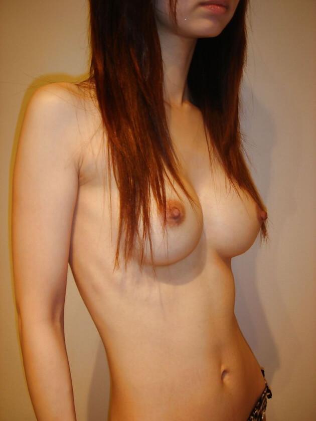 素人スレンダー巨乳 6