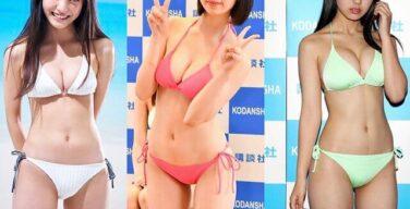 【朗報】最近のJKグラドル、スレンダー巨乳美少女ばかりでレベル高すぎる